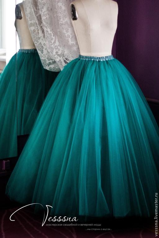 Платья с юбкой из сетки купить