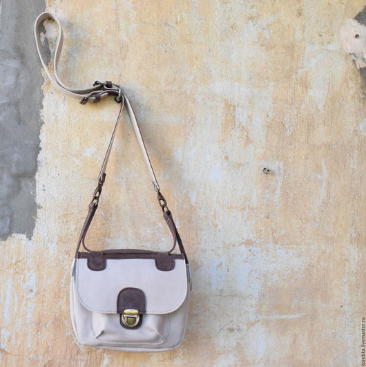 Женские сумки ручной работы. Ярмарка Мастеров - ручная работа. Купить Сумочка через плечо. Handmade. Комбинированный, летняя сумка