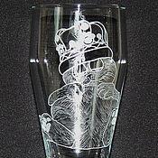 Посуда handmade. Livemaster - original item Garfield. Beer glass.. Handmade.