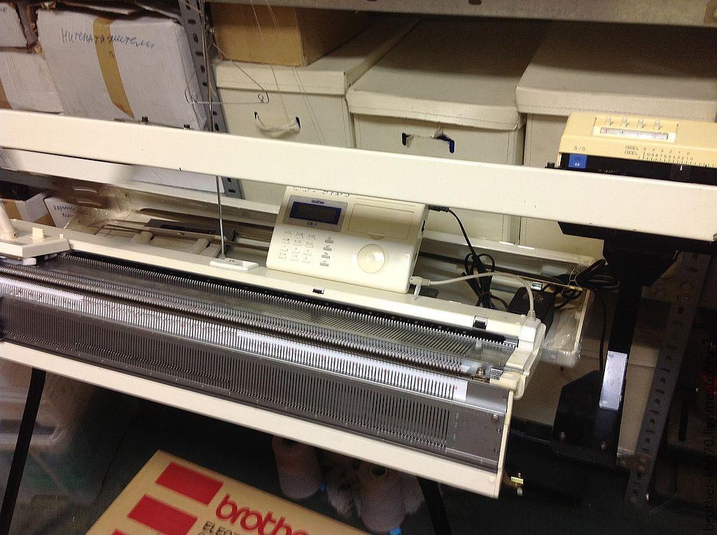 автоматическая вязальная машина Brother Kh 970 купить в интернет
