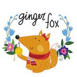 Ginger fox (irinadyagileva) - Ярмарка Мастеров - ручная работа, handmade