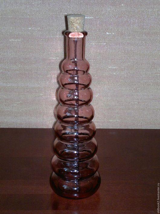 Персональные подарки ручной работы. Ярмарка Мастеров - ручная работа. Купить Бутылка алхимика. Handmade. Розовый, стеклянная, для кухни, для масла