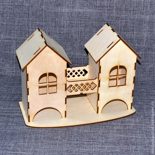 ЧД-06-003. Двойной чайный домик с мостиком