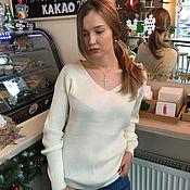 Одежда handmade. Livemaster - original item Women`s sweater made of viscose. Handmade.