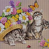 handmade. Livemaster - original item Kit embroidery with beads