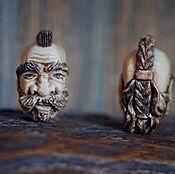 """Украшения ручной работы. Ярмарка Мастеров - ручная работа Бусина-кулон """"Краснолюд"""". Handmade."""