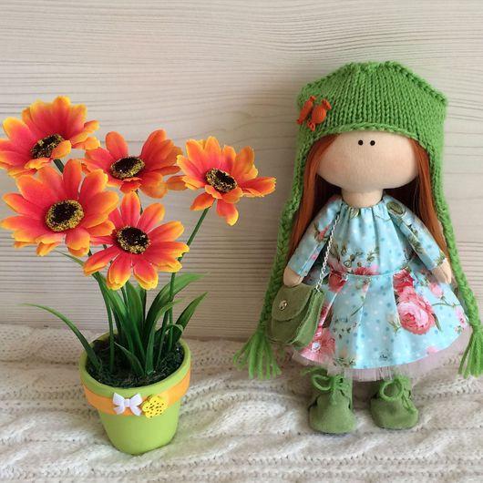 Коллекционные куклы ручной работы. Ярмарка Мастеров - ручная работа. Купить Кукла текстильная. Handmade. Подарок, трикотаж
