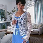 """Одежда ручной работы. Ярмарка Мастеров - ручная работа Жакет-Блуза """"Magic lace"""". Handmade."""
