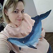 Сувениры и подарки handmade. Livemaster - original item The whale. Handmade.