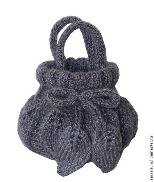 Женские сумки ручной работы. Ярмарка Мастеров - ручная работа. Купить Детская сумочка. Handmade. Орнамент, вязаная сумка