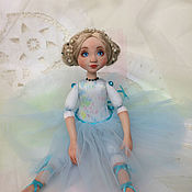 Куклы и игрушки ручной работы. Ярмарка Мастеров - ручная работа Голубая жемчужинка. Авторская кукла. Handmade.