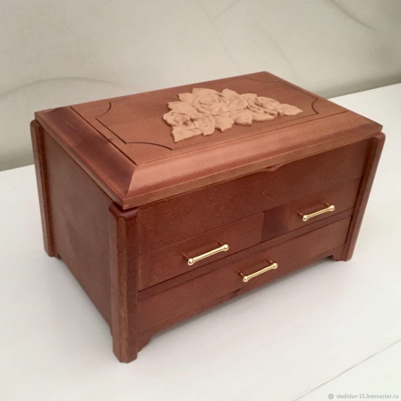 Jewelry box of wood, Box, Tyumen,  Фото №1