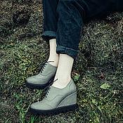 Обувь ручной работы. Ярмарка Мастеров - ручная работа Полуботинки Story. Handmade.