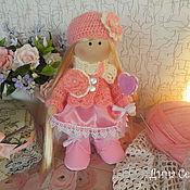 Куклы и игрушки ручной работы. Ярмарка Мастеров - ручная работа Кукла Анна из трикотажа. Handmade.