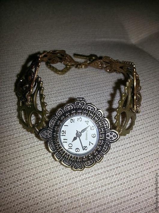 """Часы ручной работы. Ярмарка Мастеров - ручная работа. Купить Часы в стиле """"романтический стимпанк"""". Handmade. Стимпанк, часы стимпанк"""
