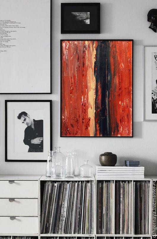 картина абстракция, картина интерьер, купить картину в москве, картины маслом, картины купить в интернет магазине, купить картину цена, картина продажа, красная картина, яркие картины, искусство