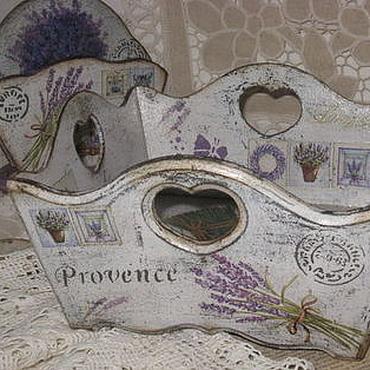 """Для дома и интерьера ручной работы. Ярмарка Мастеров - ручная работа """"Мой Прованс""""-сухарница. Handmade."""