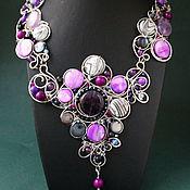 Украшения handmade. Livemaster - original item Necklace Belle Epoque ( mobile version). Handmade.