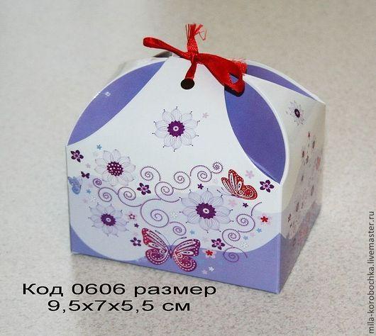 Код 0606 коробочка, бонбоньерка `сундучок большой` размер 9.5х7х5,5 см Закрывается при помощи завязочки (в комплект не входит).