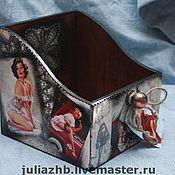 Для дома и интерьера handmade. Livemaster - original item Box for women`s stuff