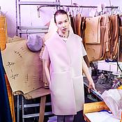 Одежда ручной работы. Ярмарка Мастеров - ручная работа Жилет из неопрена с асимметричными карманами. Handmade.