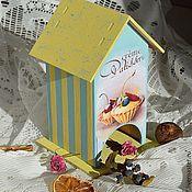 """Для дома и интерьера ручной работы. Ярмарка Мастеров - ручная работа Чайный домик """"Azure"""". Handmade."""
