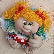 Куклы и игрушки ручной работы. Ярмарка Мастеров - ручная работа Текстильная куколка-попик на удачу Солнышко. Handmade.