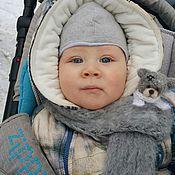 Работы для детей, ручной работы. Ярмарка Мастеров - ручная работа Детский шарф Тедди. Handmade.