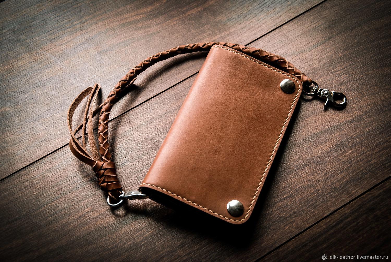 Плетёный шнур для бумажника или ключей