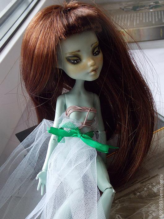Коллекционные куклы ручной работы. Ярмарка Мастеров - ручная работа. Купить ООАК Монстр Хай. Handmade. Коричневый, кукла шарнирная