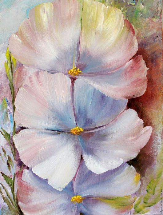 Картины цветов ручной работы. Ярмарка Мастеров - ручная работа. Купить Картина маслом  Цветы. Handmade. Картина, прованс