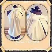 """Блузки ручной работы. Ярмарка Мастеров - ручная работа Блузка """"Линда"""" с американской проймой. Handmade."""
