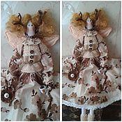 Куклы и игрушки ручной работы. Ярмарка Мастеров - ручная работа Кофейная фея Анжелика. Handmade.