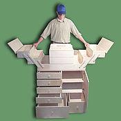 Для дома и интерьера ручной работы. Ярмарка Мастеров - ручная работа Швейный шкаф 800мм х 500мм х 900мм. Handmade.