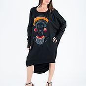 Одежда handmade. Livemaster - original item African woman print dress - TU0885PM. Handmade.