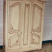 Для дома и интерьера ручной работы. Ярмарка Мастеров - ручная работа Мебель в спальню с росписью. Handmade.