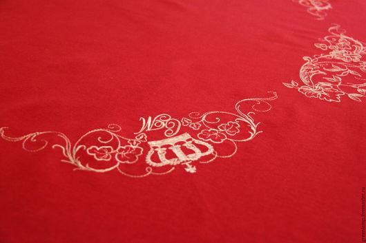 Текстиль, ковры ручной работы. Ярмарка Мастеров - ручная работа. Купить Скатерть свадебная. Handmade. Комбинированный, свадебный подарок