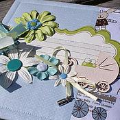 Канцелярские товары ручной работы. Ярмарка Мастеров - ручная работа Альбом для мальчика. Handmade.