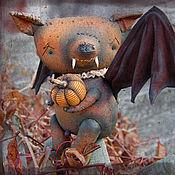 Куклы и игрушки ручной работы. Ярмарка Мастеров - ручная работа Летучая мышь Азазелло. Handmade.