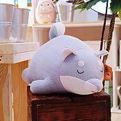 Мягкие игрушки ручной работы. Ярмарка Мастеров - ручная работа Мягкие игрушки: Упитанная шиба (сибу-ину). Handmade.