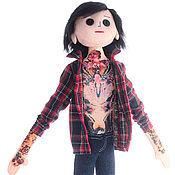 Куклы и игрушки ручной работы. Ярмарка Мастеров - ручная работа Портретная кукла Оливер Сайкс по фото. Handmade.