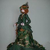 """Куклы и игрушки ручной работы. Ярмарка Мастеров - ручная работа Мадам """"Малахит"""". Handmade."""