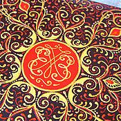 Канцелярские товары ручной работы. Ярмарка Мастеров - ручная работа Роспись большого фотоальбома. Handmade.