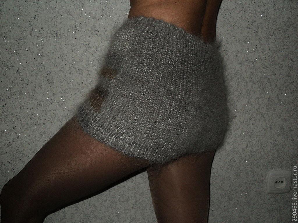 Теплые женские пуховые шортики выручат модниц ( можно носить под джинсы и миниюбки )
