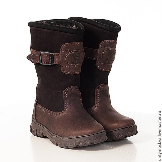 Обувь ручной работы. Ярмарка Мастеров - ручная работа. Купить Монголки детские мд1. Handmade. Монголки, подарок ребенку, войлок