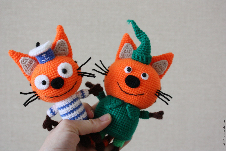 три кота коржик компот карамелька