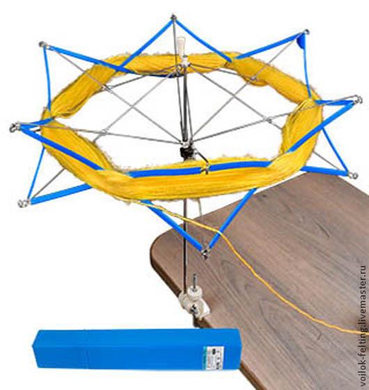 """Вязание ручной работы. Ярмарка Мастеров - ручная работа. Купить Моталка для пряжи """"Зонт"""". Handmade. Моталка для пряжи, устройство для перемотки"""