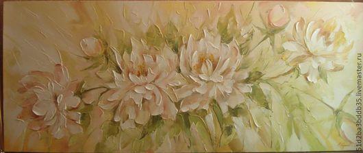 Картины цветов ручной работы. Ярмарка Мастеров - ручная работа. Купить Летнее настроение. Handmade. Картина, картина в подарок