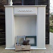 Для дома и интерьера ручной работы. Ярмарка Мастеров - ручная работа Каминный портал. Handmade.