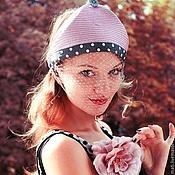 """Аксессуары ручной работы. Ярмарка Мастеров - ручная работа Маленькая шляпка """" Принцесса на горошине"""". Handmade."""
